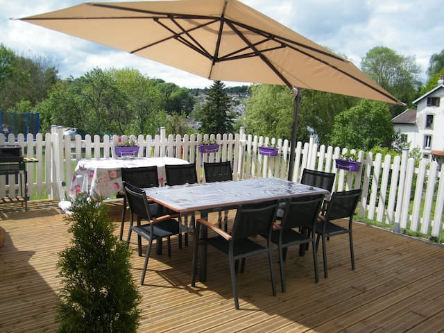F1 bis  avec terrasse + parking     - Chantraine - Daire