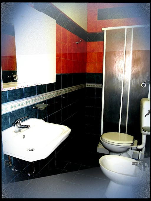Suite Deluxe's private bathroom.