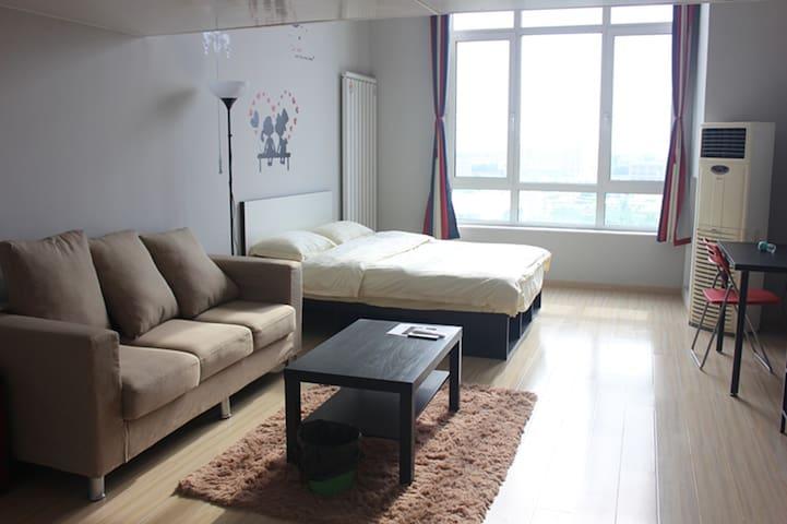 4号线loft双床房 家庭出游首选 让你的旅途不再疲惫 - Pekin - Obsługiwany apartament