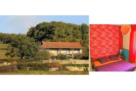 Chambre en pleine nature à 5mn de Cluny - Lournand - บ้าน