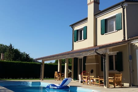 villa singola con piscina - LUSSO - Isola Albarella - Villa