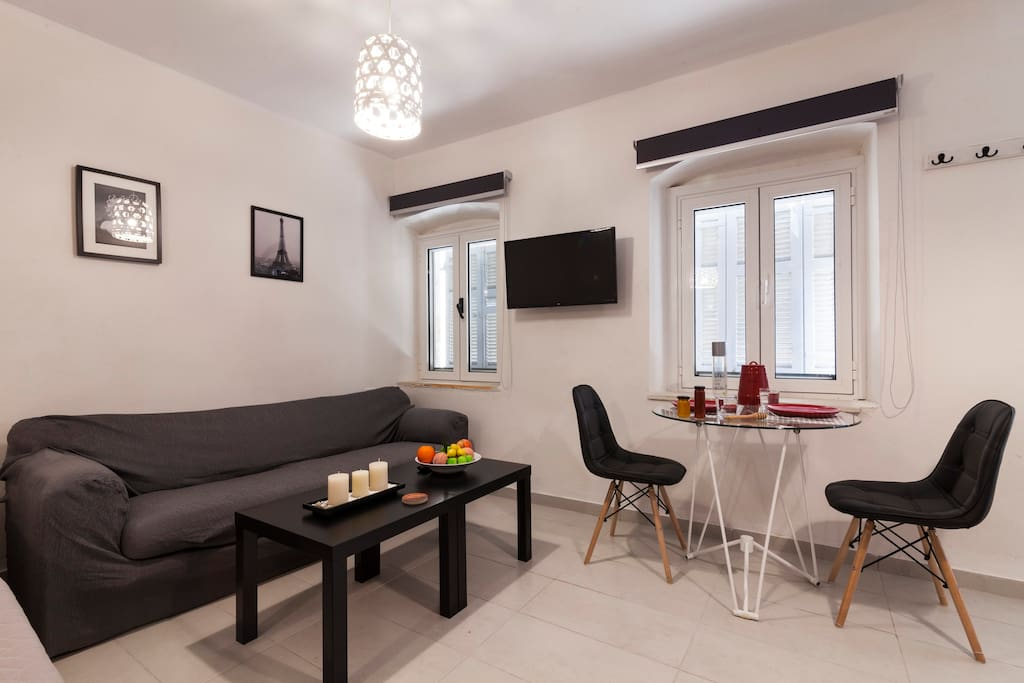 Sofa & Dining Table