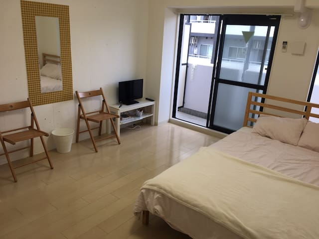 Stylish and clean room,Osaka(^^)