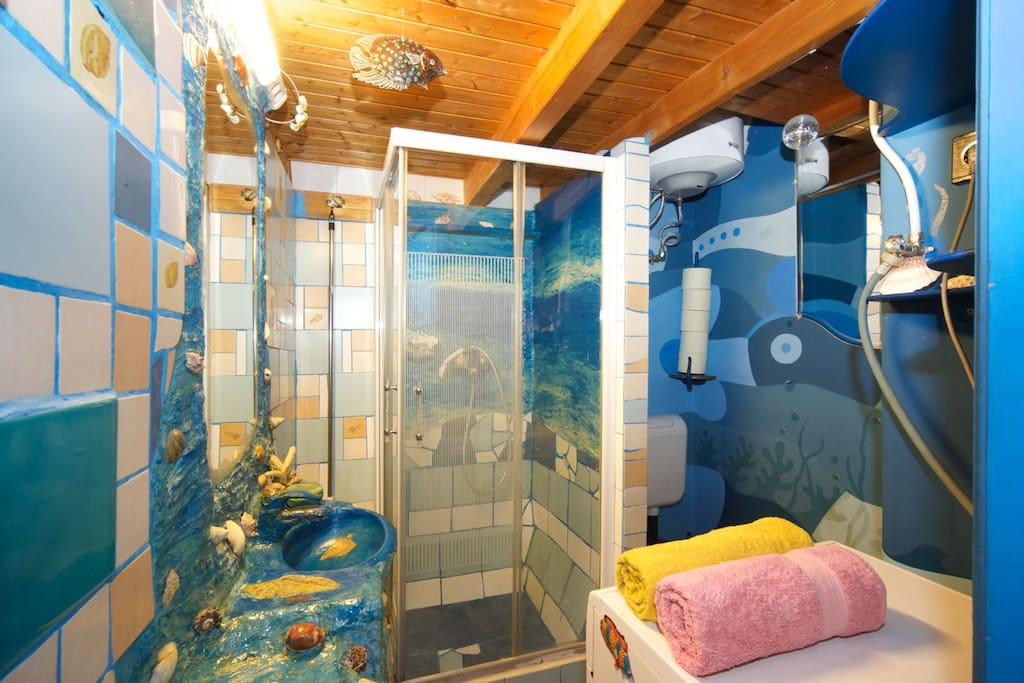 The underwater spelled bathroom