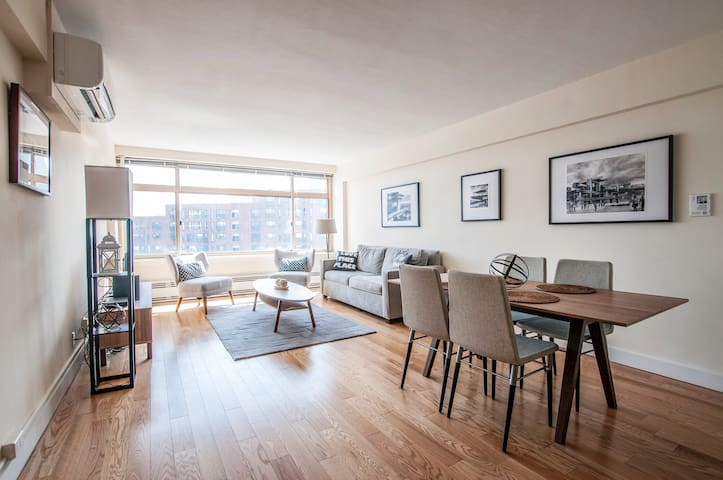 Sonder | Beacon Suites | Lovely 1BR + Gym