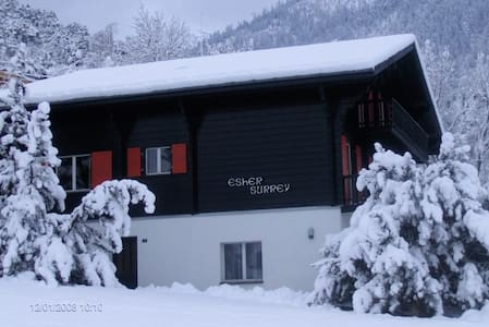 4 Pers Appartment in a Swiss Chalet