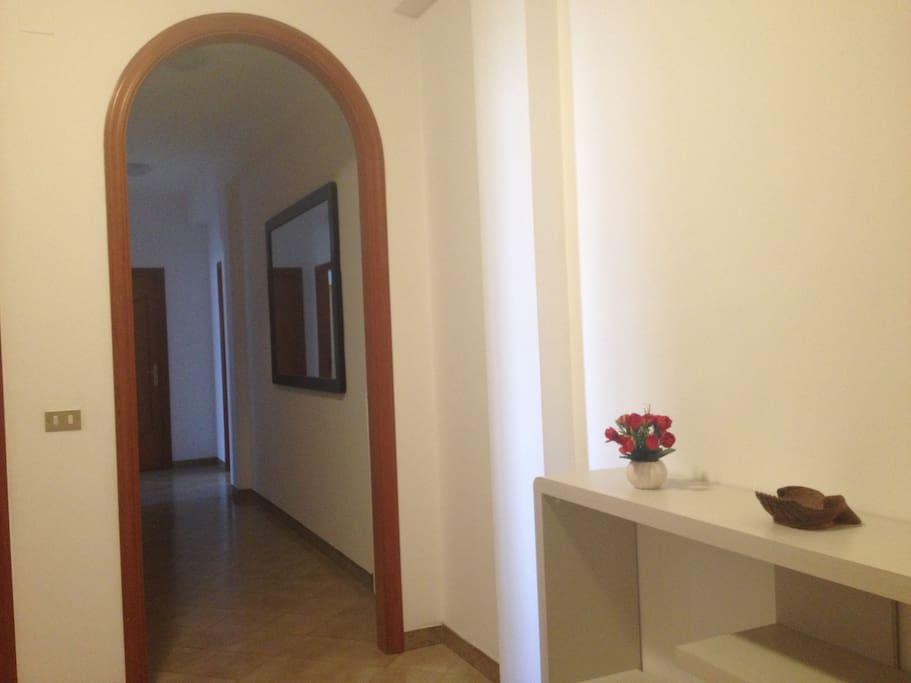 ingresso della casa