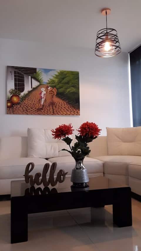 Gorgeous apartment in beautiful Pereira!