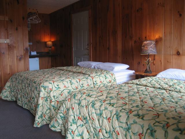 Standard Room No. 2 - 4 Capacity (2A+2C)- 2 Queens - Lake George