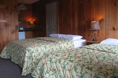 Standard Room No. 2 - 4 Capacity (2A+2C)- 2 Queens - Lake George - Boutique-Hotel