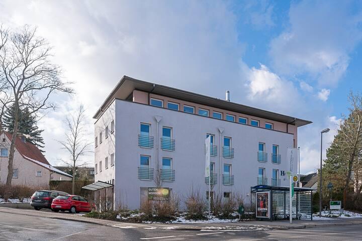 Komfortables 2-Zimmer Apartment 60qm mit Terrasse