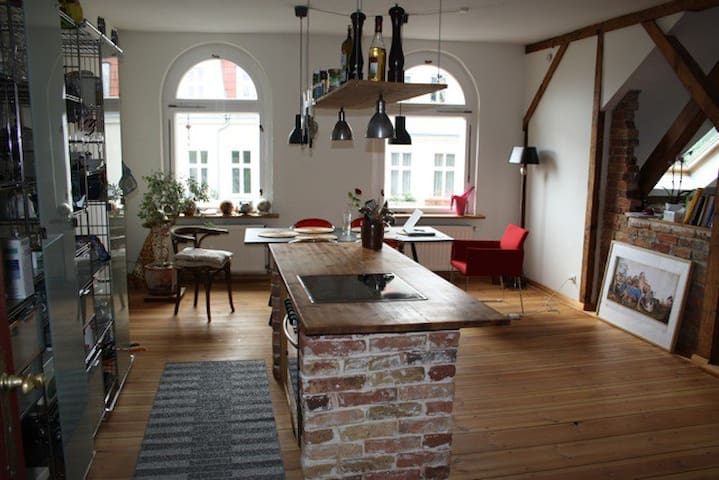 Nice apartment on the lake - Berlin - Daire