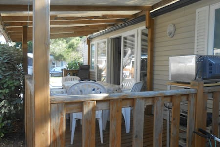 mobilhome  4/6 pers dans camping 3* - Hyères