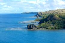 Gorgeous coastline of Southern Guam