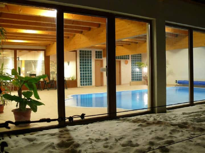 Double Room in Wellness Penzion Rosnicka