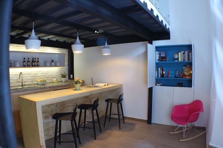 Loft San Miguel (2 blocks from the main square)