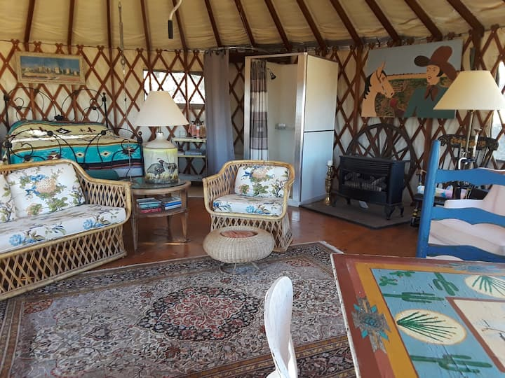 Yurt at the Top of the Mountain