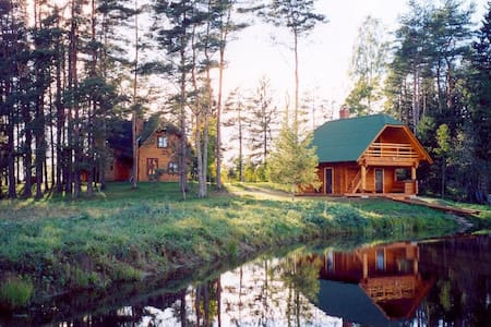 Guesthouse beside the river Gauja