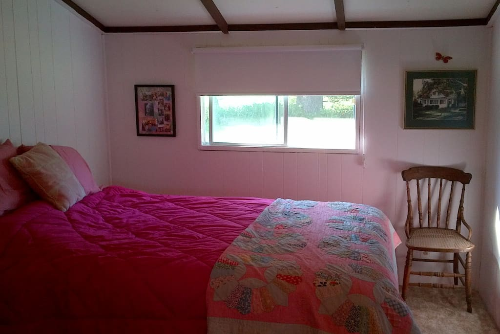 Master bedroom, new queen bed