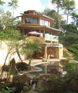 Luxury Jungle Retreat Ocean View - uvita - Talo