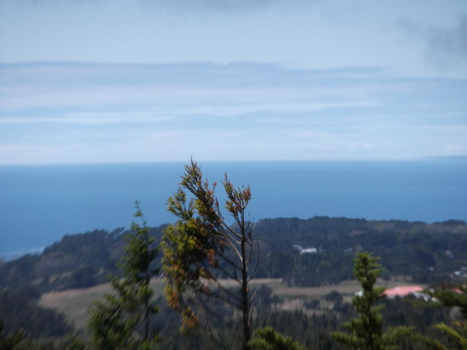 5 mile wide view of Coastal National Monument aka The Stornetta Lands