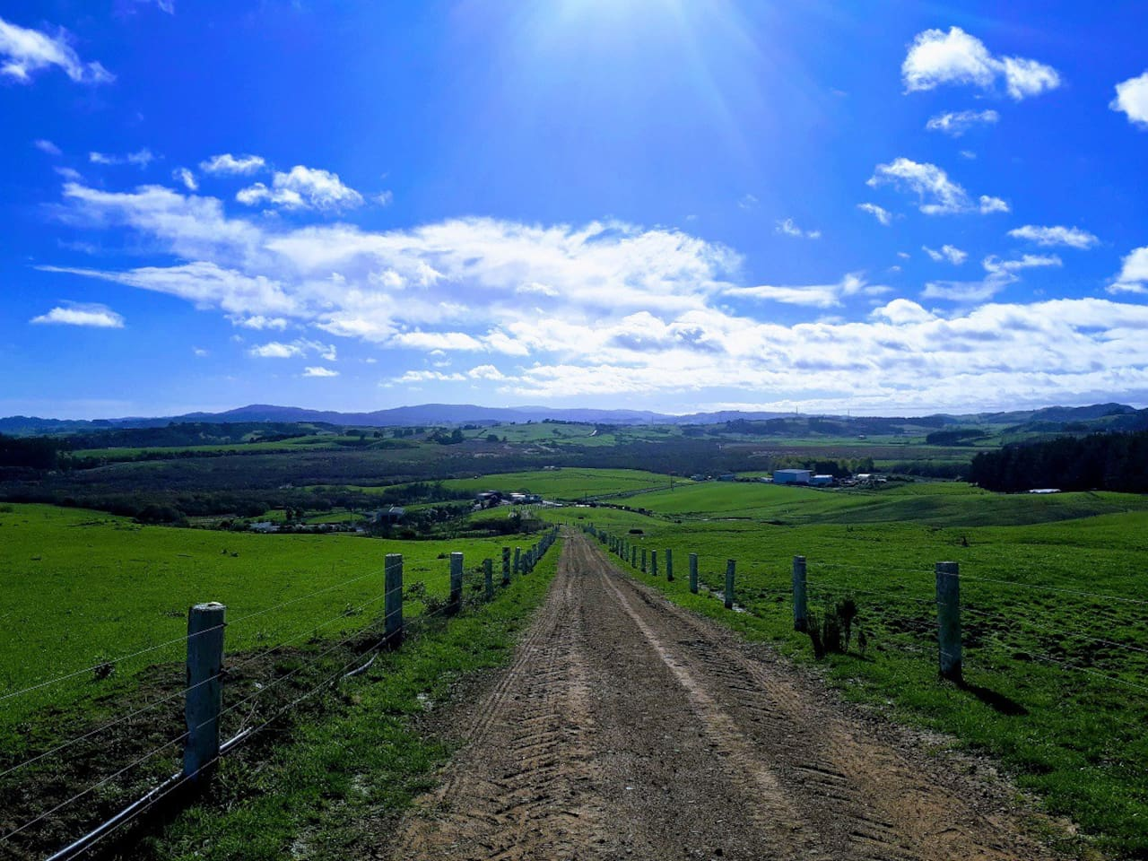 Take a walk to the top of the farm and this is what you'll see