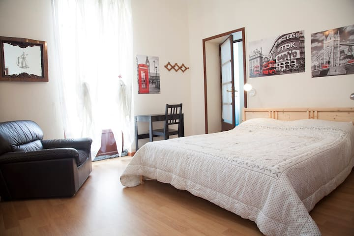 B&B Ai tre leoni - Room  old London - Como - Bed & Breakfast