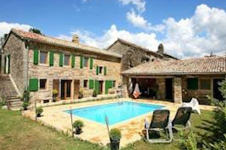 Beautiful villa with swimming pool - Buzet - House