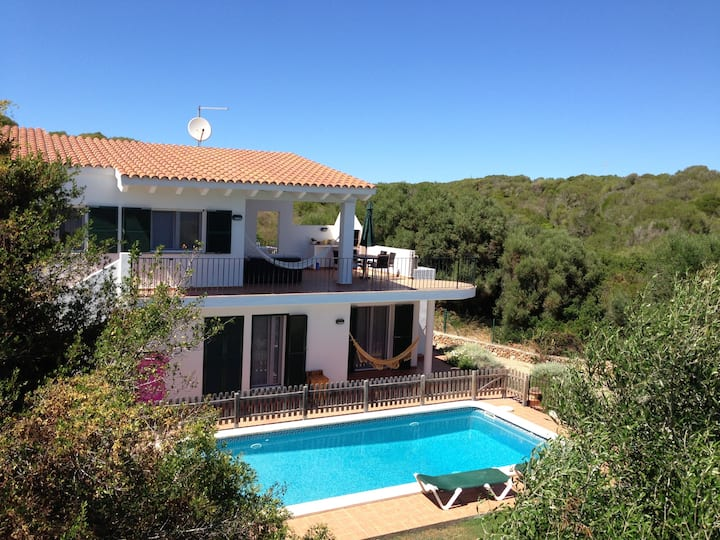 Privacy and comfort in Minorca