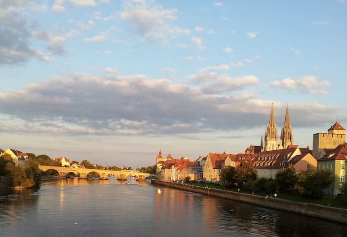 Helle und freundliche 2-Zimmer-Wohnung - Regensburg - Apartment
