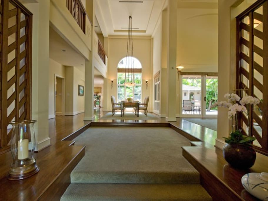 Stunning 25ft high ceilings, architecturally designed.