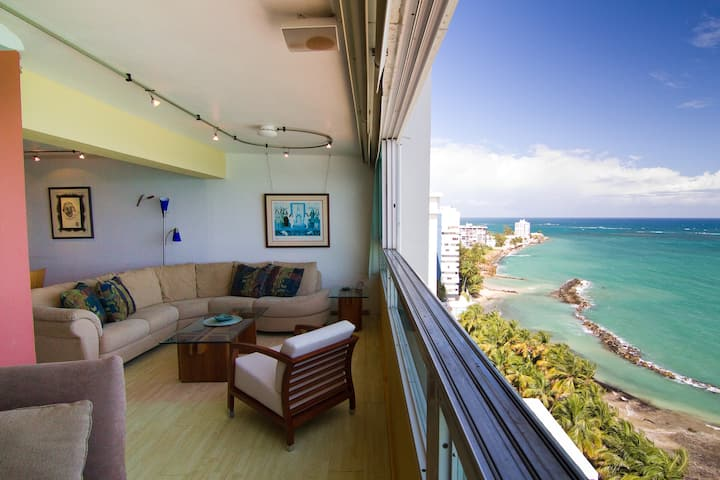 OCEAN VIEW BEACHFRONT CONDO