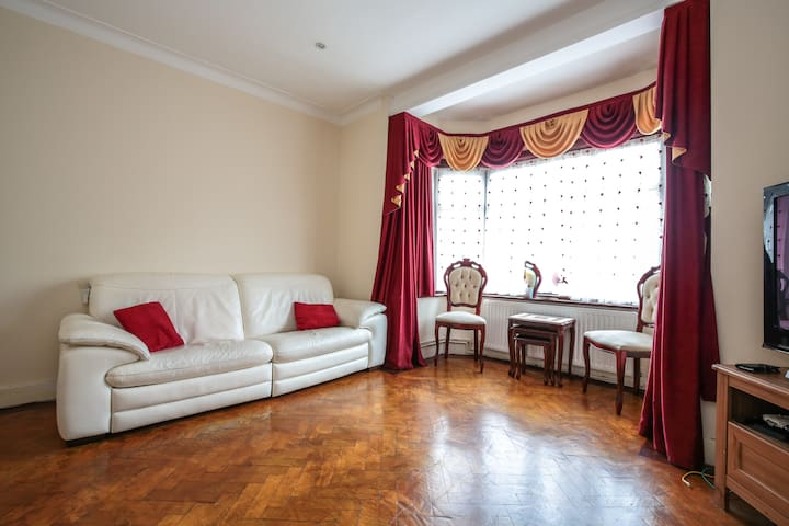 Comfortable double bedroom - London - Rumah