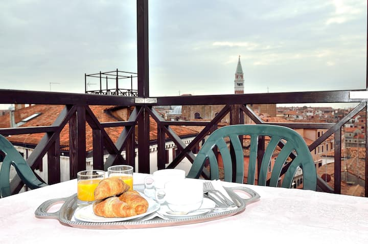 See Venice from roof-top terrace - X3201