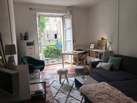 Super centraal appartement in Nantes.
