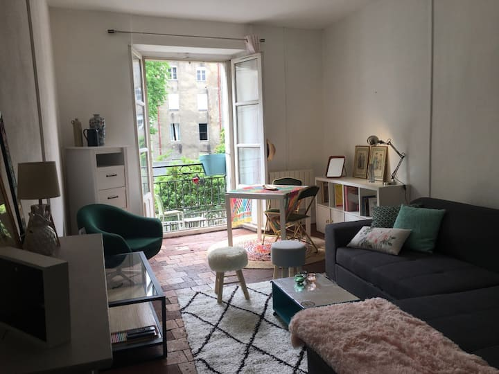 Appartement en hyper centre de Nantes.