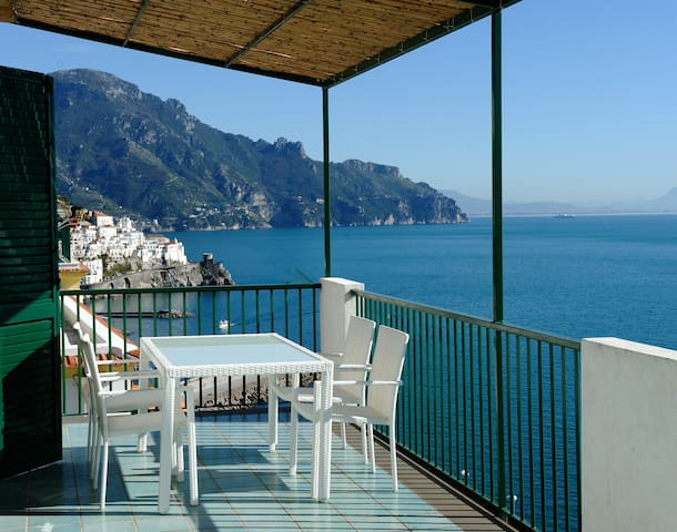 2 bedrooms apartment with sea view - Amalfi - Haus