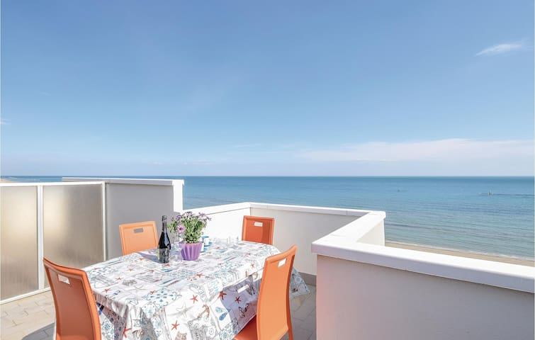 Holiday apartment with 1 bedroom on 35m² in Fano -PU-