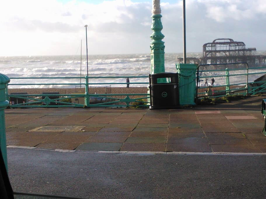 Brighton West Pier, (what is left of it)