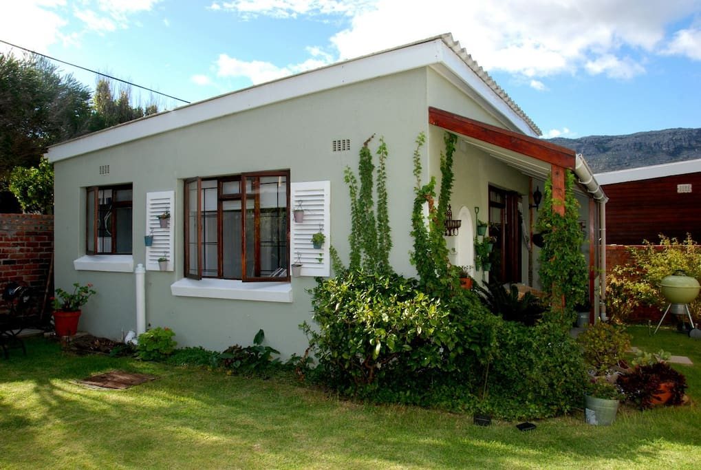 Side view of the cottage