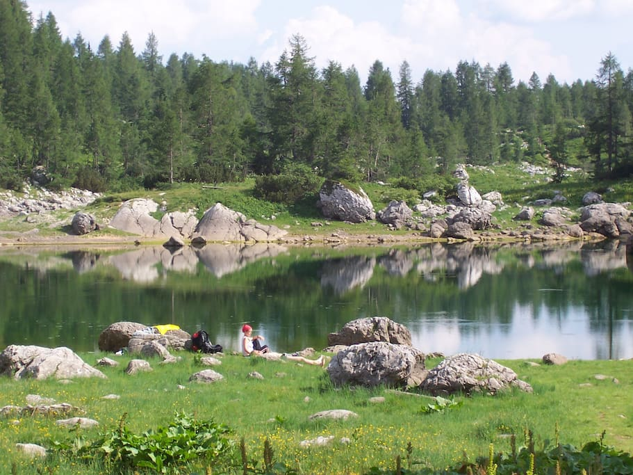 Seven lakes in Triglav national park