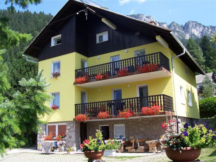 Apartments house Triglav - Julian Alps Slovenia