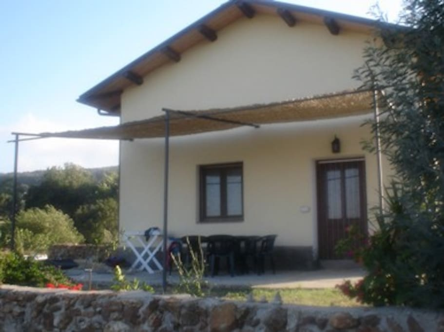 Casa in agriturismo arcobaleno houses for rent in for Piani di casa con guest house annessa