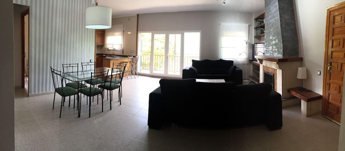APARTAMENTO EN PLENA NATURALEZA - L'Aleixar  - Lägenhet
