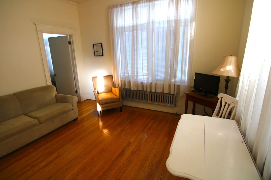 Living Room w/ Afternoon Sun