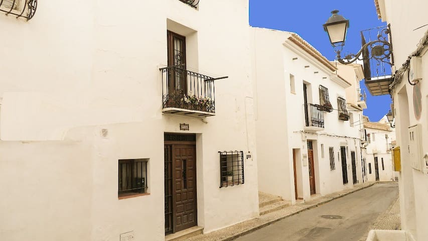 Altea old quarter. Casita Vigibbe. 2 bedroom house - Altea - Huis