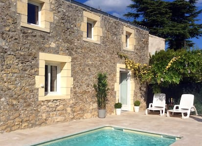 Gorgeous village cottage with pool - Gensac