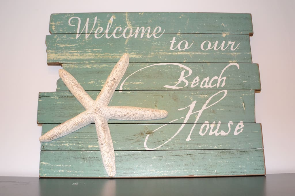 Welcome to our beach flat
