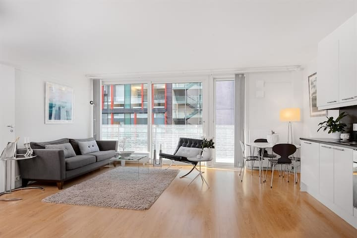 Modern 2 bedrooms apartment in Tjuholmen