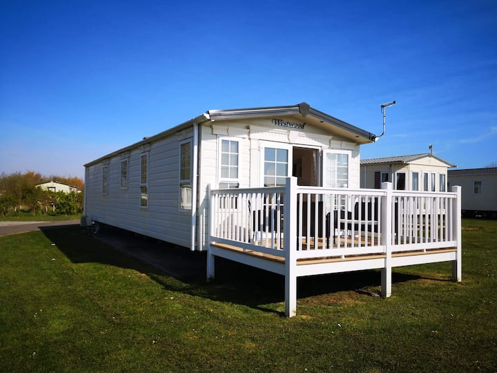 Caravan at Sand le Mere Holiday Village